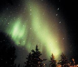 Aurora Borealis as seen in Kakslauttanen, Saariselkä