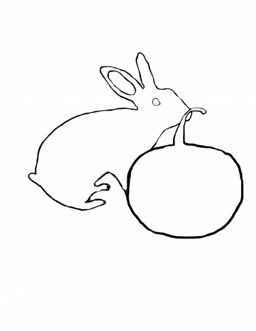Free Printable Cute Halloween Bunny coloring page. - This is my Rabbit, Backsplash!