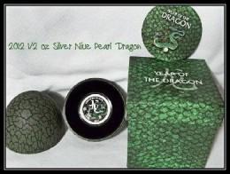 2012 1/2 oz Silver Nieu $2 Pearl Dragon