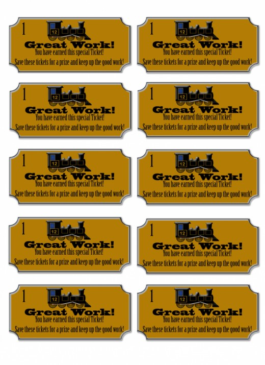 This is a picture of Revered Printable Train Tickets