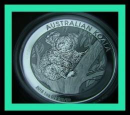 2013 Australia Silver Koala Coin by Perth Mint