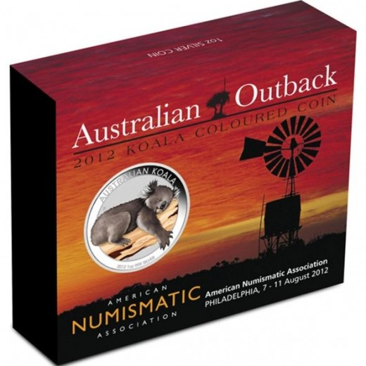 ANA Silver Koala Coin Show Packaging