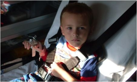 Cutie at 3 years old after 750cc bolus in the ambulance being transferred to another facility