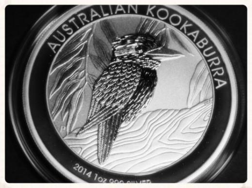 2014 1 Ounce Silver Kookaburra