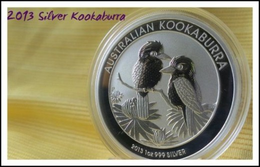 2013 Perth Mint Australia Silver Kookaburra