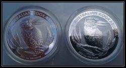 2012 Silver Kookaburra Coin Pair