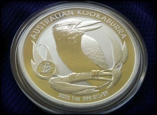2012 Kookaburra - 1 oz Silver Dragon Privy