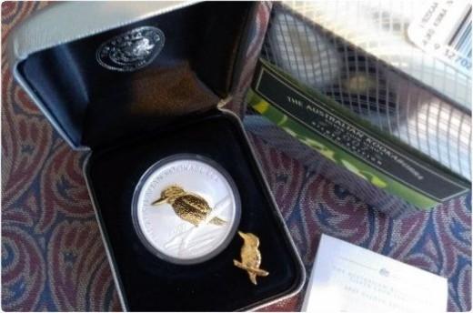 2007 Gilded Silver Kookaburra