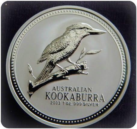 2003 Kookaburra Silver Coin