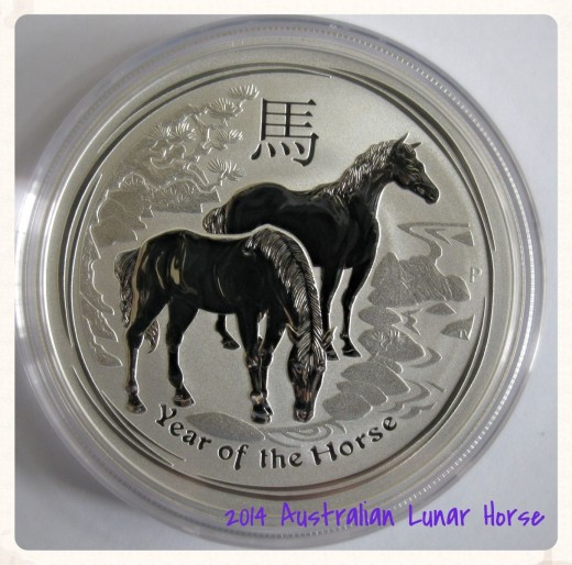 Australia 2014-P Year of the Horse Chinese Lunar Zodiac