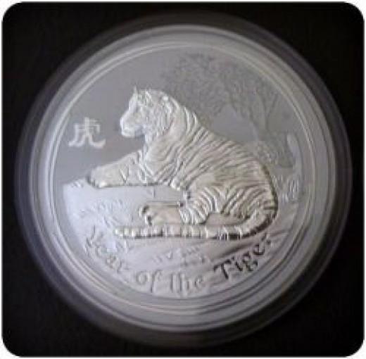 Australian Series 2 Silver Tiger 2010