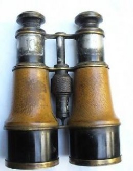 Ross Binoculars - marked with the Broad Arrow