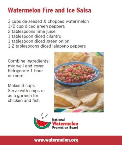 Fire and Ice Salsa