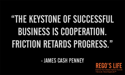 The keystone of... - James Cash Penney