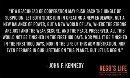 If a beachhead of... - John F. Kennedy