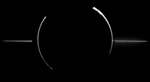 Eclipse View of Jupiter and it's Rings / NASA/JPL
