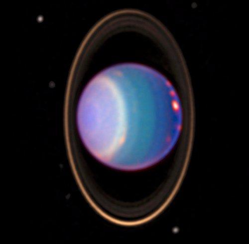Rings around Uranus