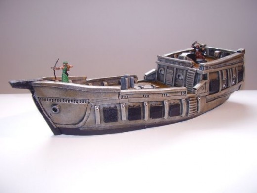 Arsenale Shipworks Privateer (painted)