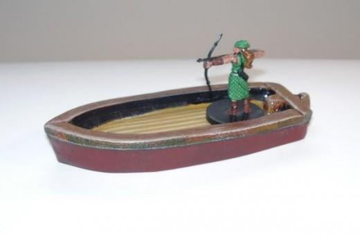 Thief's Skiff (painted)