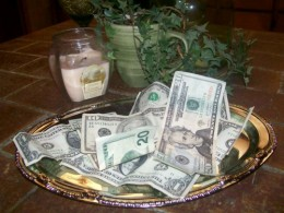 Are you serving your money to your creditors on a silver plater?