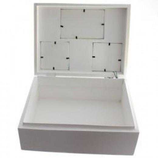 Carved treasure box