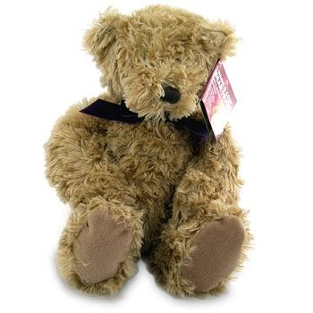 Personalised teddy bear delivers message