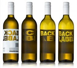 Wine Bottle Labels - Back Label
