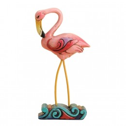 A flamingo figurine makes a nice gift for a collector.