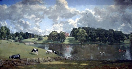 Wivenhoe Park John Constable