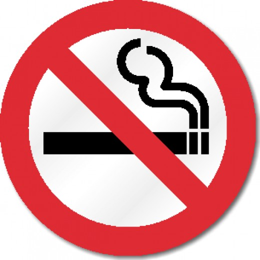 The ban on smoking affected all smokers.