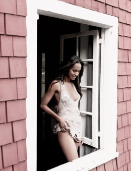 Zoe Saldana in Esquire May 2009