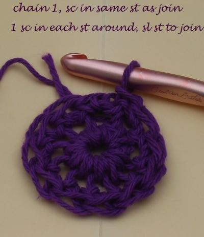 Step 4: Single Crochet in Each Stitch Around