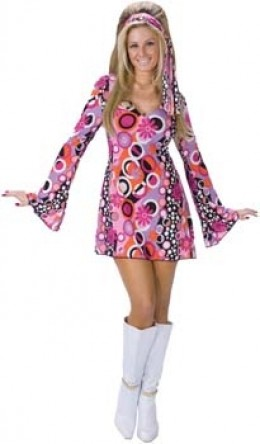 70's Ladies costume - 1 size only