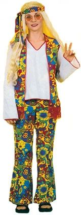 Ladies Traditional Hippy Costume