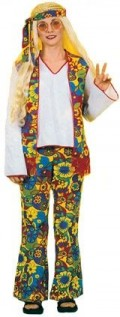 Ladies Traditional Hippy Costume