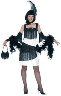 Black & White Flapper Costume