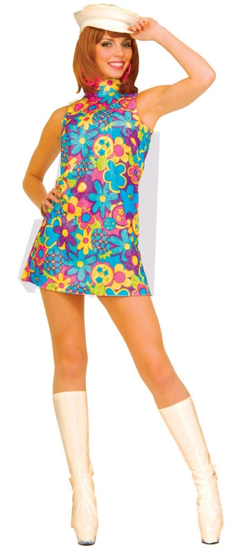 1960s Ladies Hippy Costume
