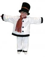 Kids Snowman Costume - Available in sizes 3 -5 and 5 - 7 years