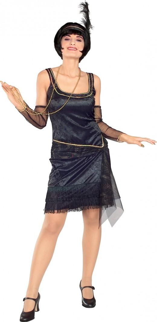 Black Charleston Costume