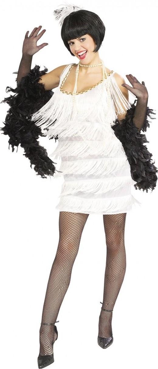 White Flapper Costume