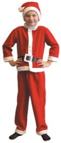 Boy's Father Christmas Costume - Available is sizes 3 -5 and 5 - 7 years