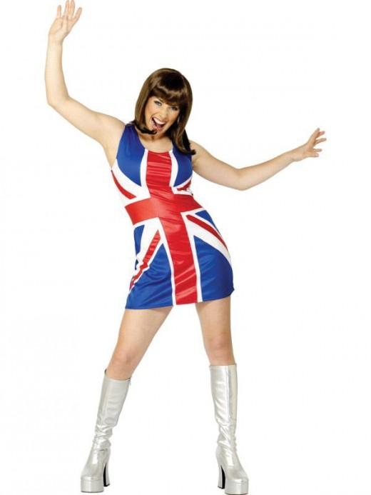 Union Jack Costume - Gerri Halliwell