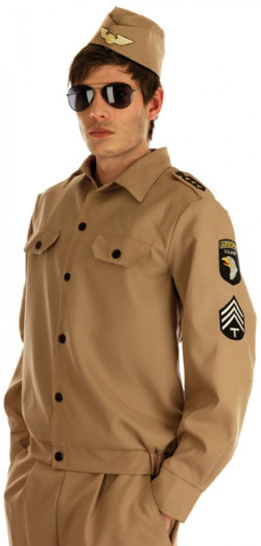 A 1940'S American Uniform