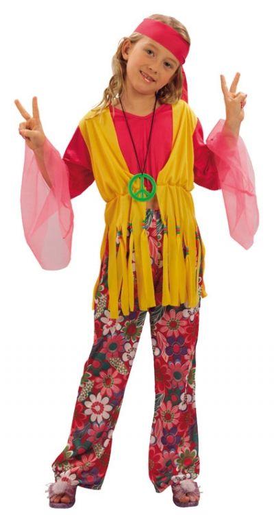 Girl's Hippy Costume