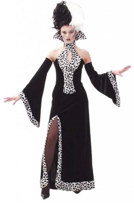 Cruella Style Costume