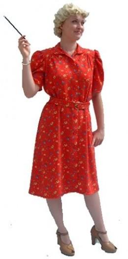 1940s Day (Tea) Dress