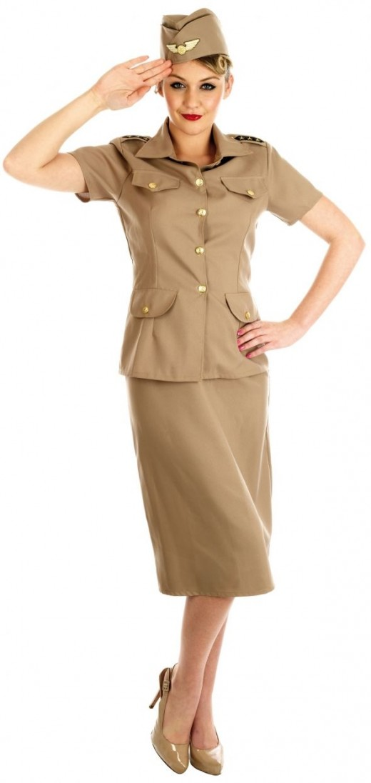 Ladies American GI Costume