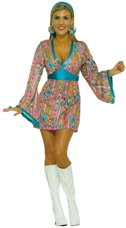 1970s Ladies Costume - available in 1 size