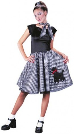 A 1950's Poodle Skirt