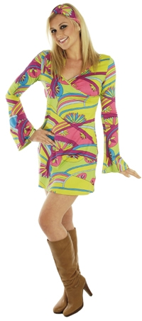 1970s Ladies Costume- available in 6 sizes